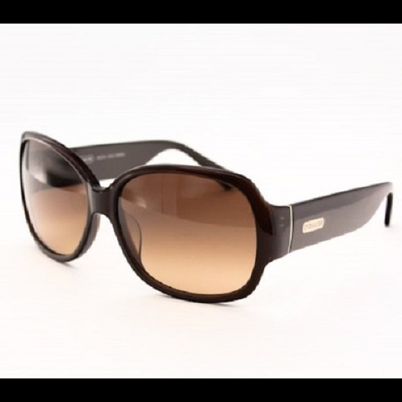 11176d1ddeaa Coach Accessories | Odessa Brown And Gold Sunglasses | Poshmark